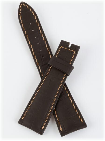 Breguet - Chocolate Crocodile Strap