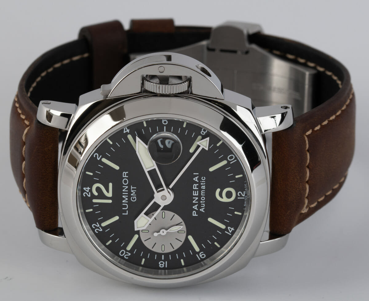Front View of Luminor GMT