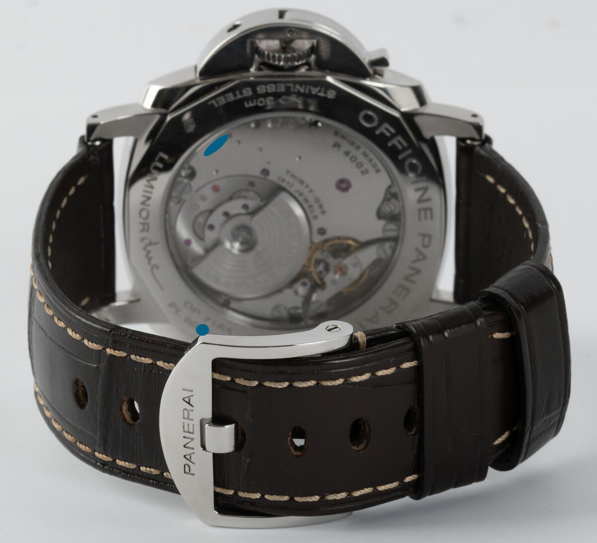 Rear / Band View of Luminor Due GMT