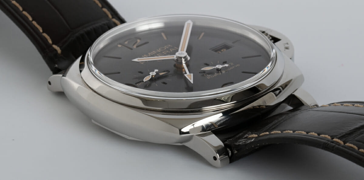 9' Side Shot of Luminor Due GMT