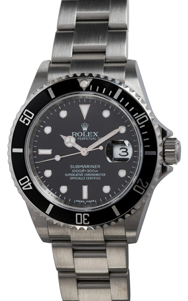 Rolex - Submariner Date - never polished