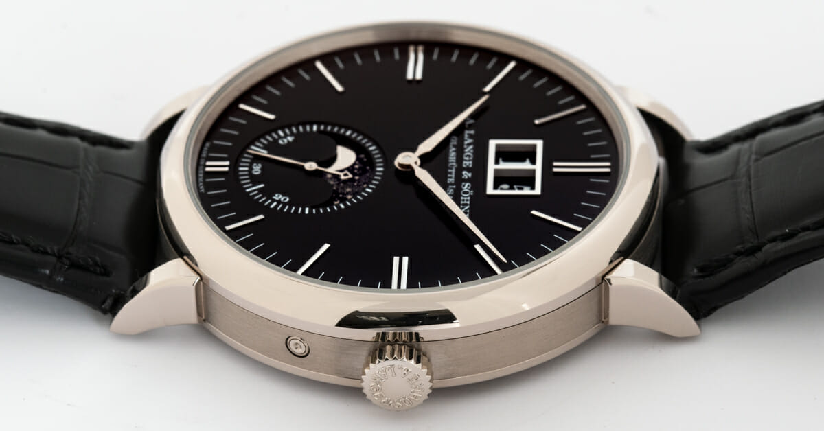 Crown Side Shot of Saxonia Moon Phase