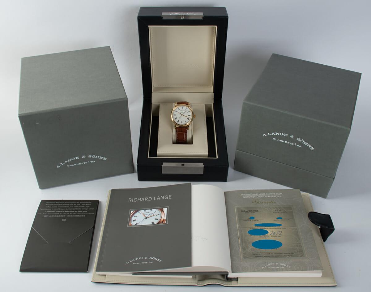 Box / Paper shot of The Richard Lange