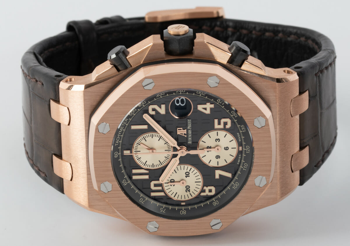 Front View of Royal Oak Offshore Chronograph