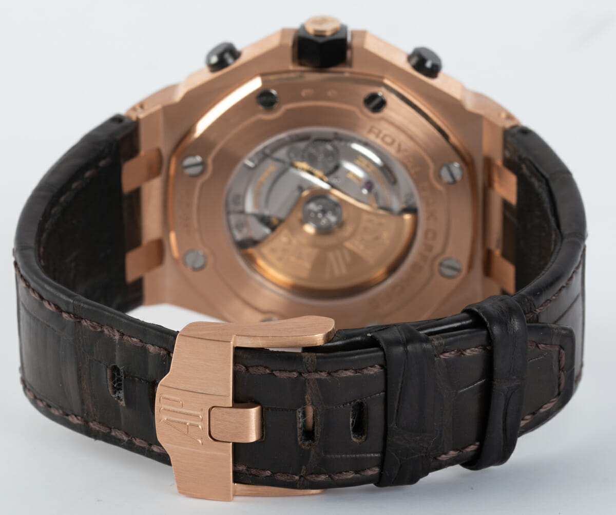 Rear / Band View of Royal Oak Offshore Chronograph