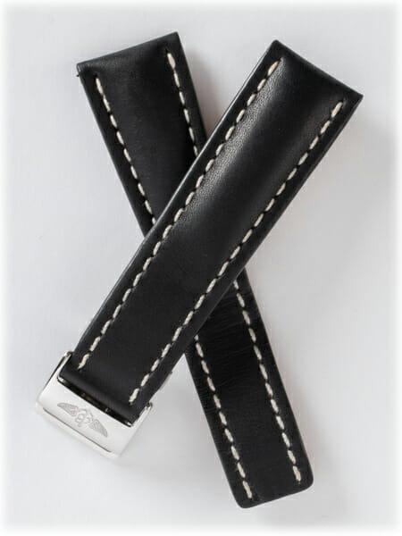 Breitling Leather Deployant Strap