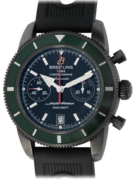 Breitling - SuperOcean Heritage Chronograph 44 BlackSteel