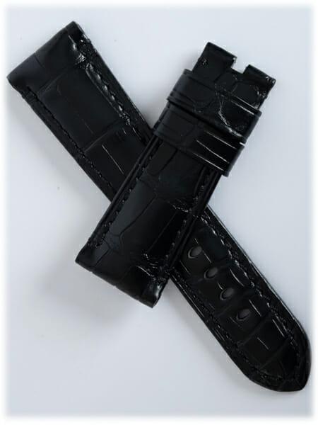 Panerai - Black Alligator Strap