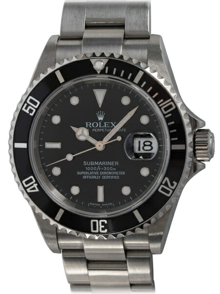 Rolex - Submariner Date - unpolished