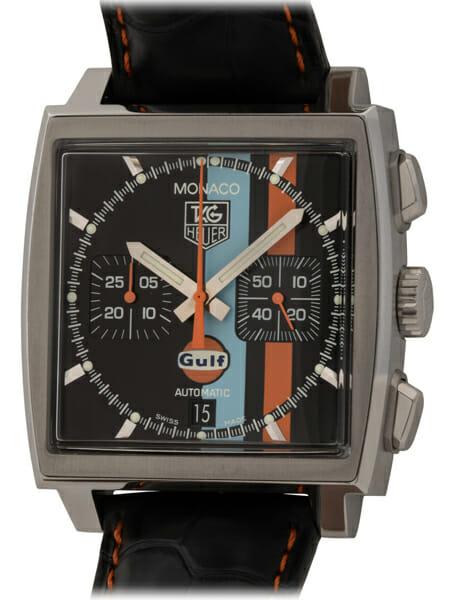TAG Heuer - Monaco Chronograph 'Gulf' Limited Edition