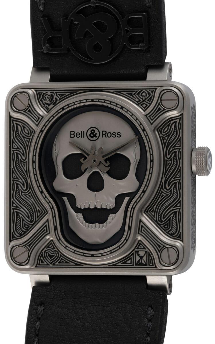 Bell & Ross - BR 01 Burning Skull