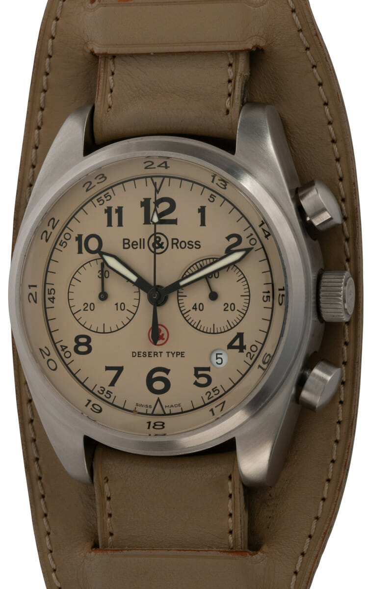 Bell & Ross - Vintage 126 XL Desert Type Chronograph