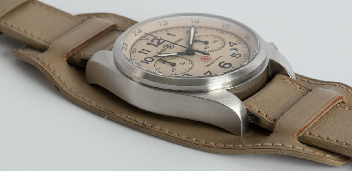 9' Side Shot of Vintage 126 XL Desert Type Chronograph