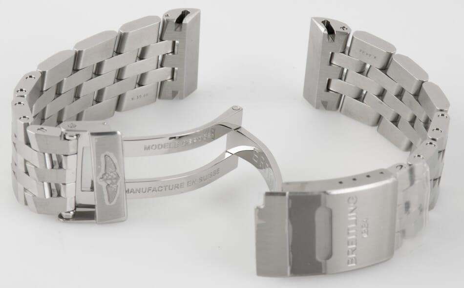 Rear / Band View of Blackbird Pilot Bracelet