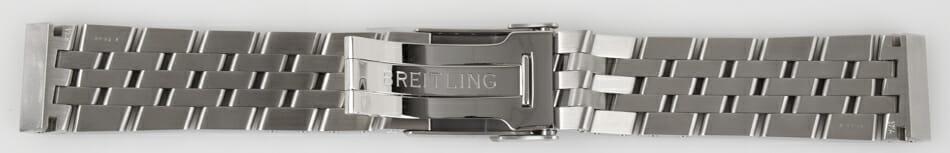 Open Clasp Shot of Blackbird Pilot Bracelet