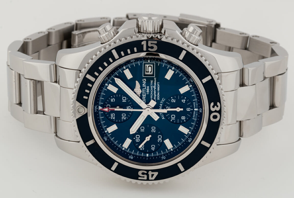 Front View of Superocean Chronograph 42