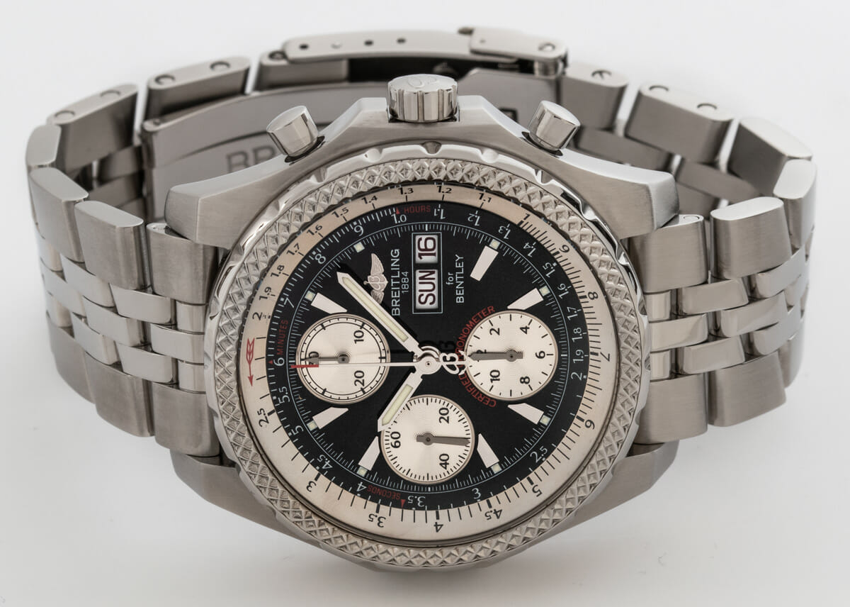 Front View of Bentley GT Racing Chronograph