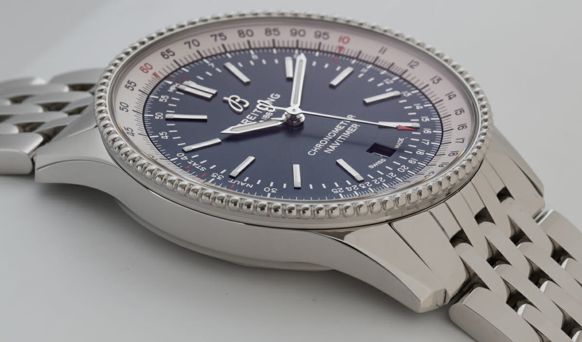 9' Side Shot of Navitimer 1 Automatic 41