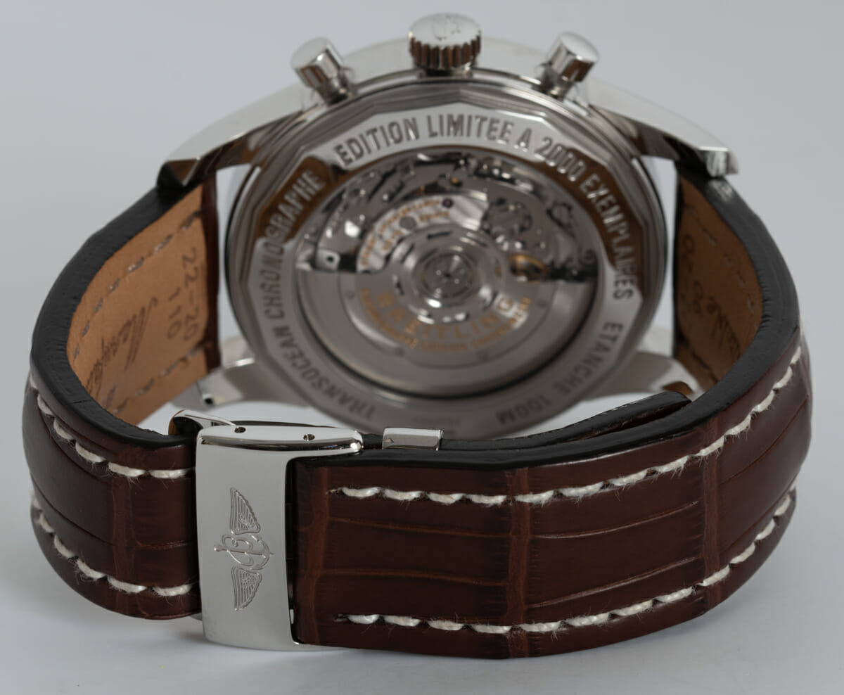 Rear / Band View of Transocean Chronograph