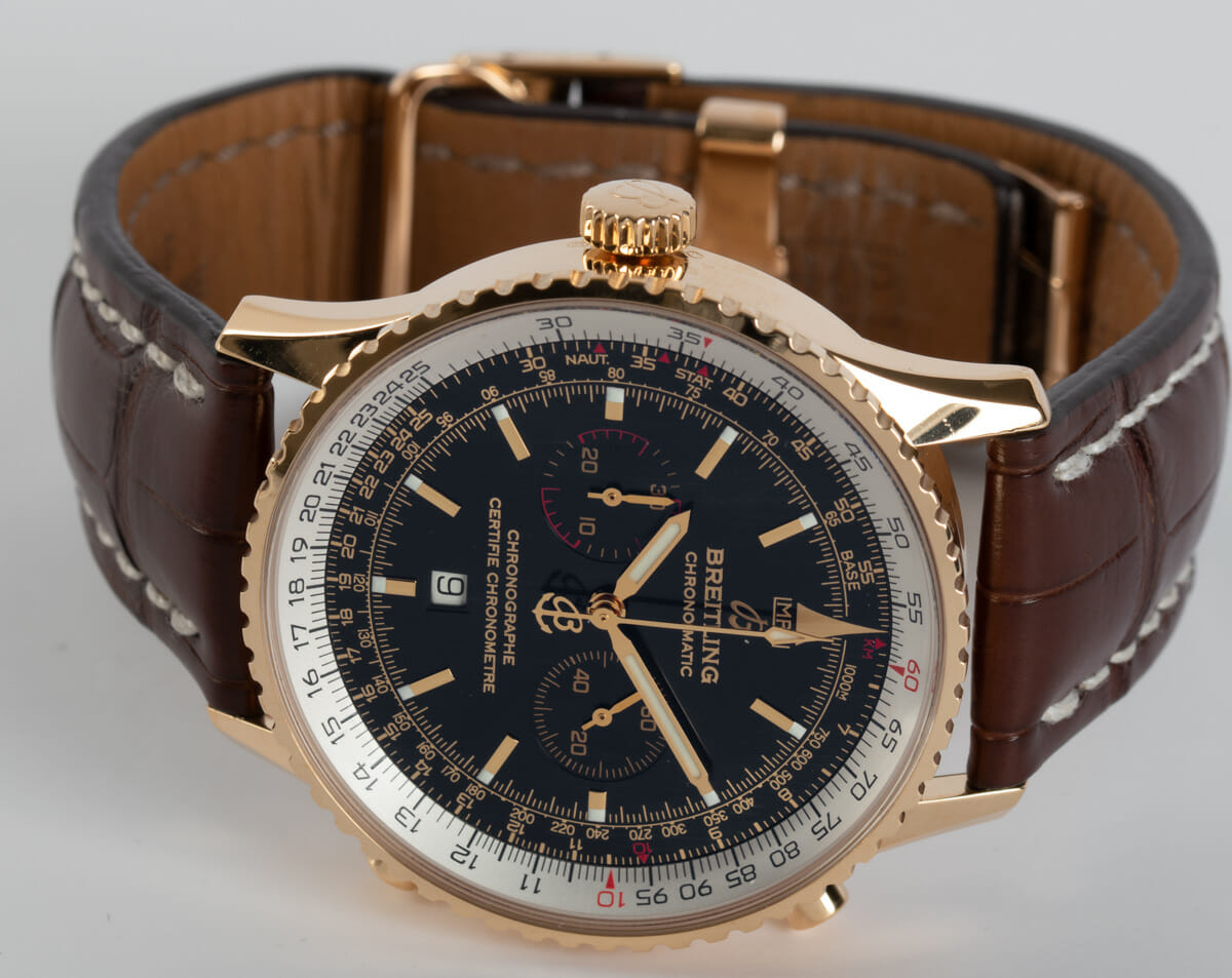 Front View of Navitimer Chronomatic