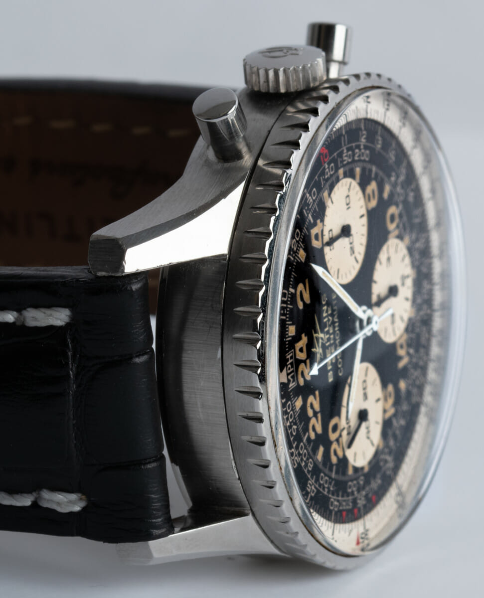 Dial Shot of Navitimer Cosmonaute 'Twin Jets' Vintage