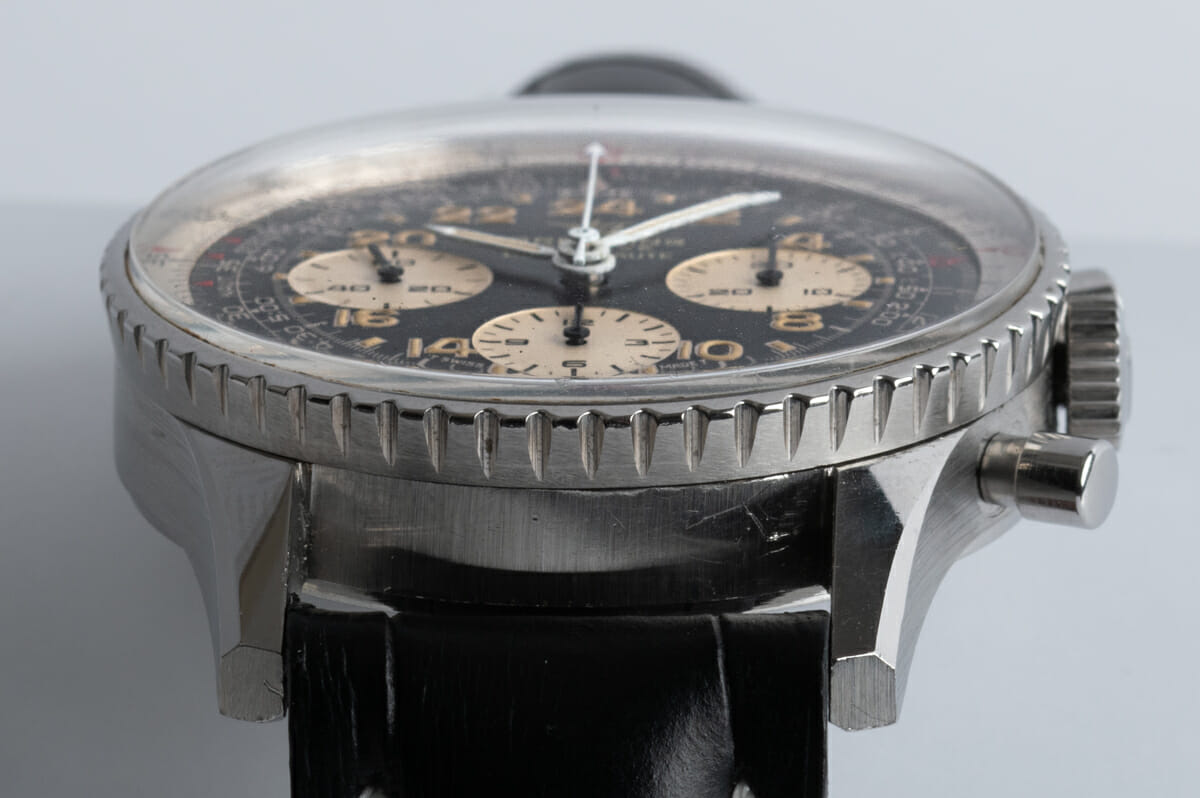 Front Shot  of Navitimer Cosmonaute 'Twin Jets' Vintage