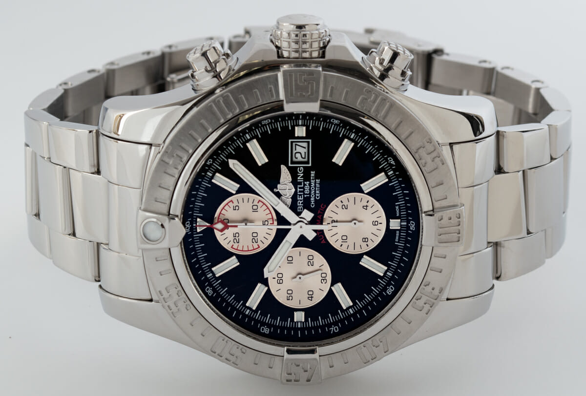 Front View of Super Avenger II Chronograph