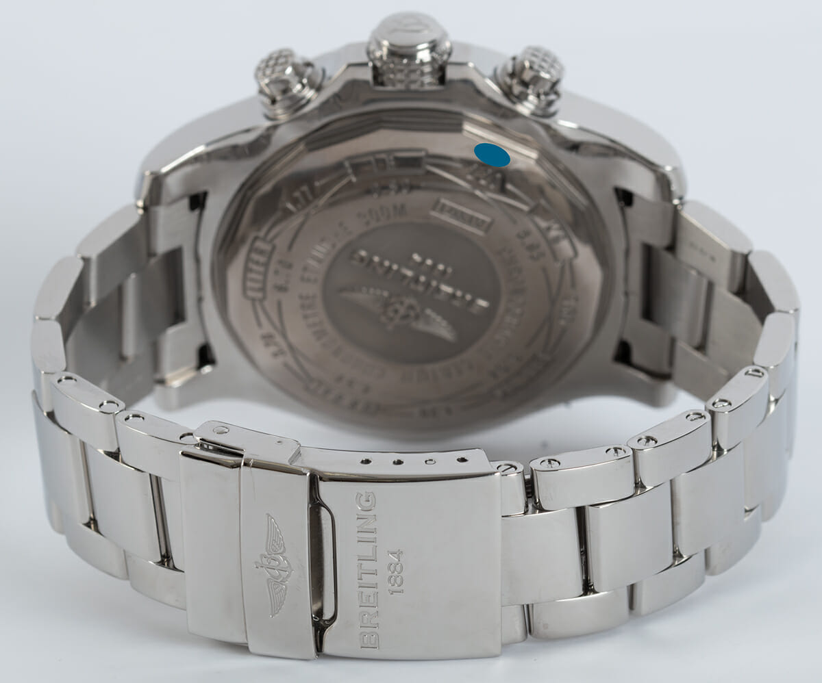 Rear / Band View of Super Avenger II Chronograph