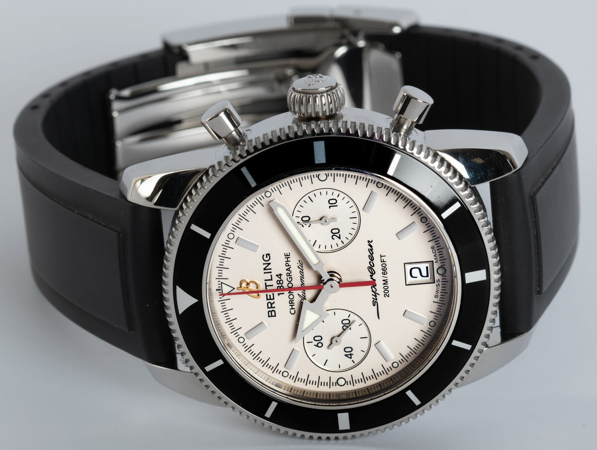 Front View of SuperOcean Heritage Chronograph 44