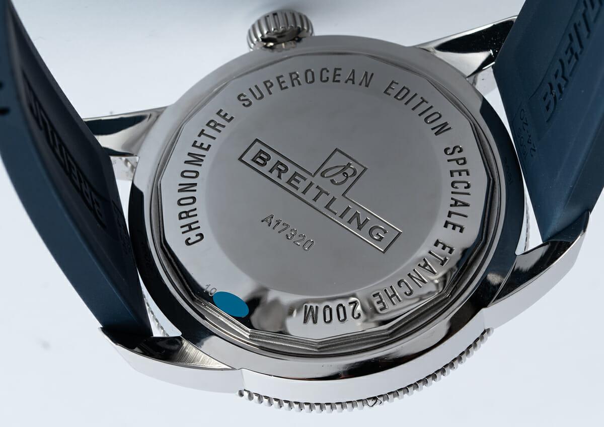Caseback of SuperOcean Heritage 46