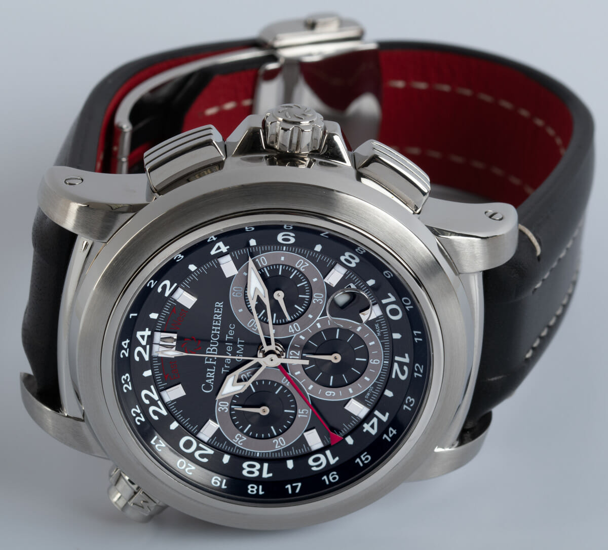 Front View of Patravi Traveltec GMT