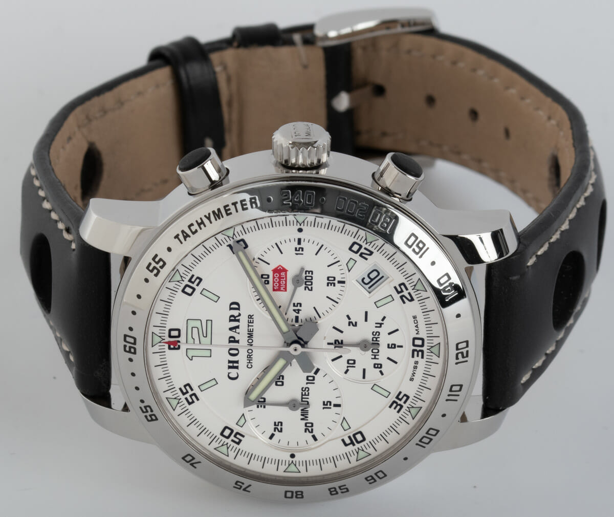 Front View of Mille Miglia Chronograph