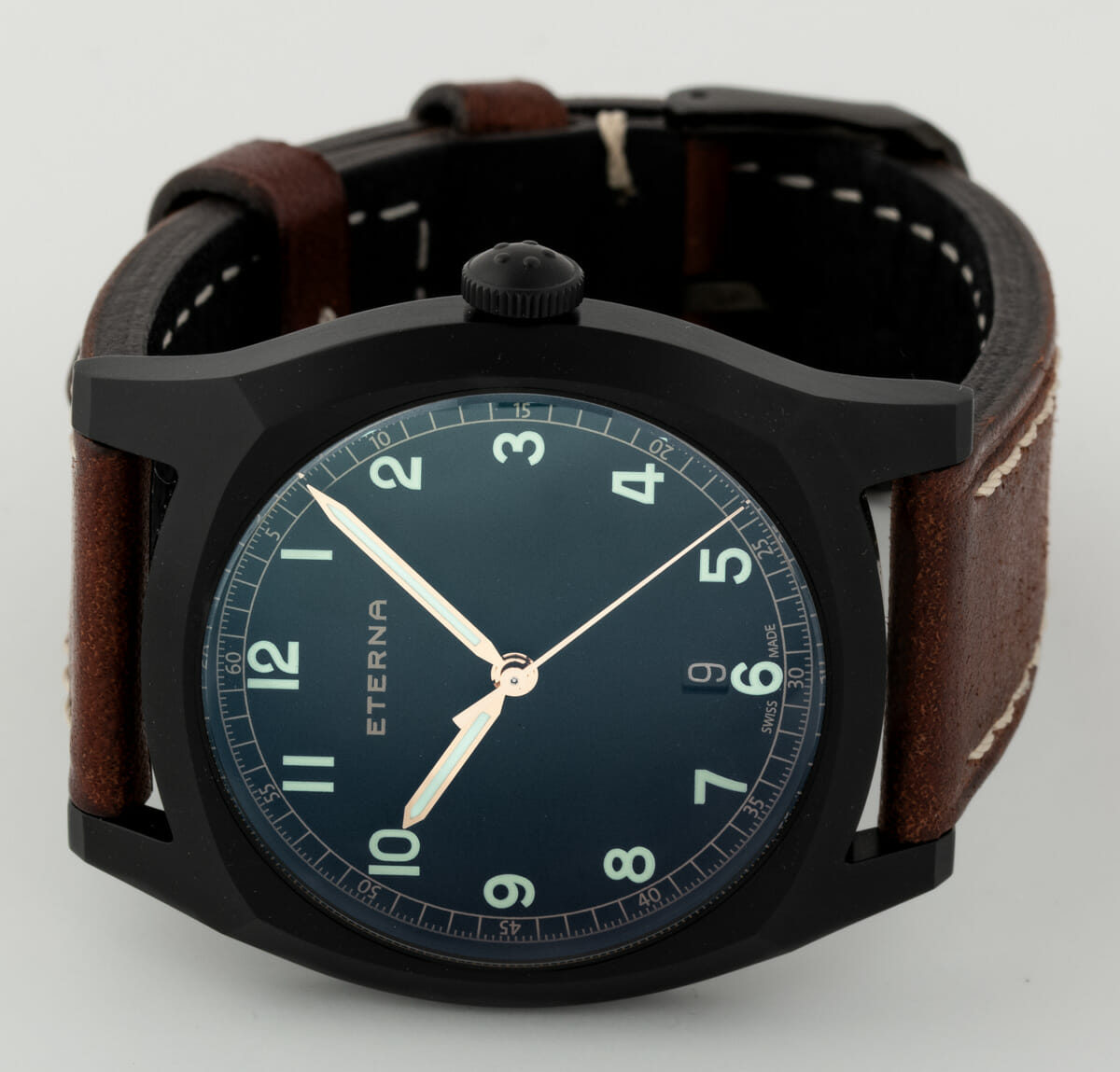 Front View of Heritage Military 1939 Limited Edition PVD