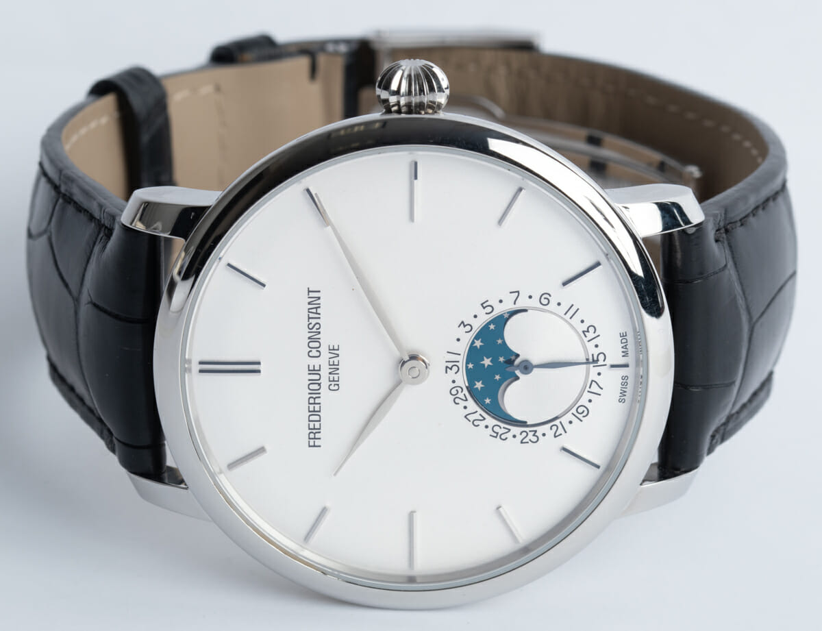 Front View of Slimline Moonphase