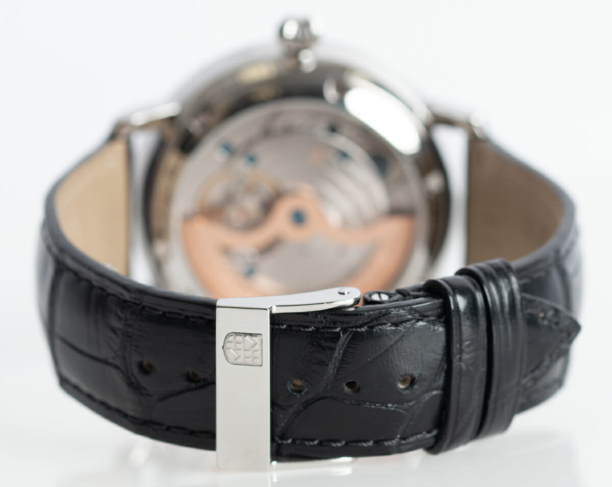 Rear / Band View of Slimline Moonphase