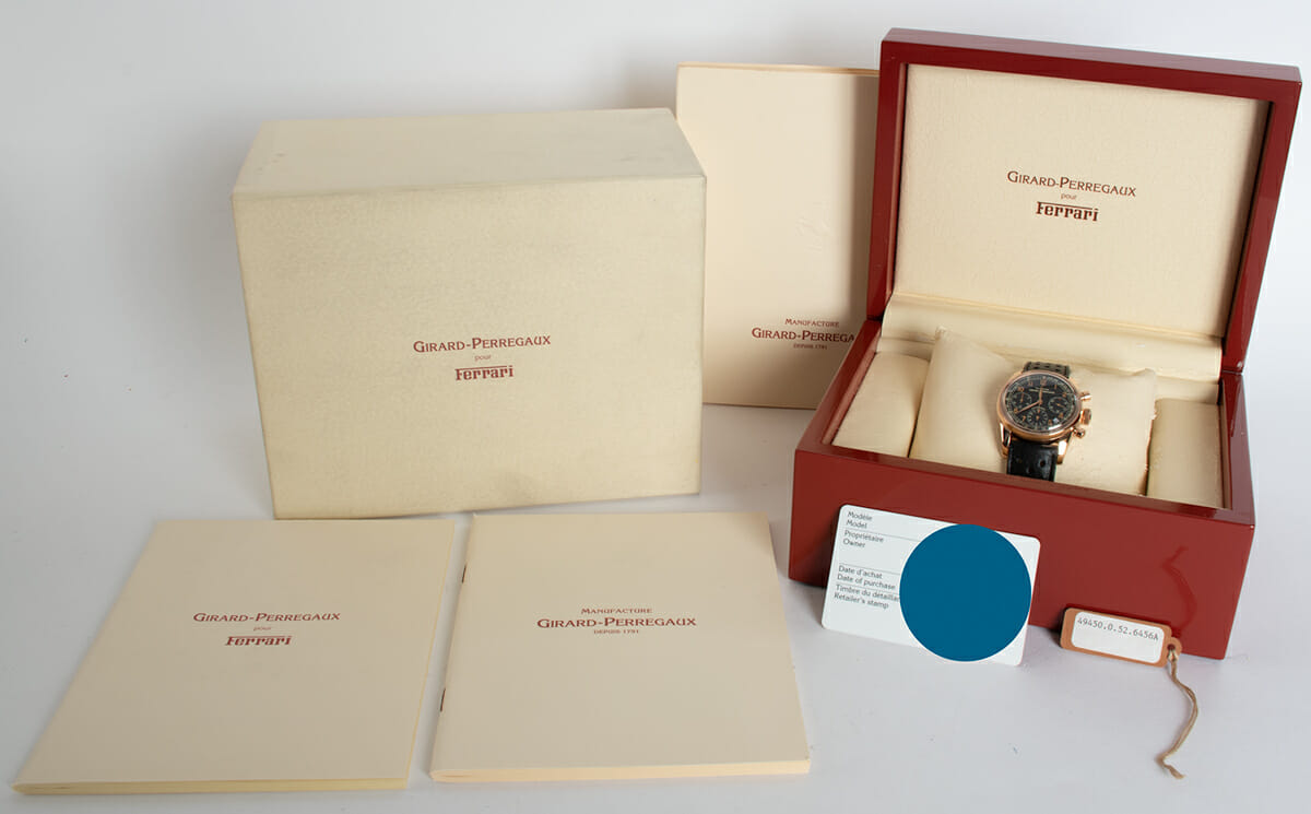 Box / Paper shot of Classique Elegance - Ferrari Chrono
