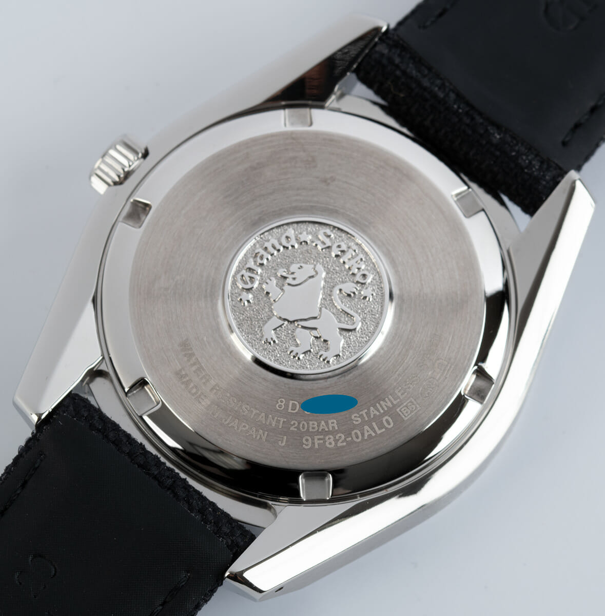 Caseback of Sport Collection