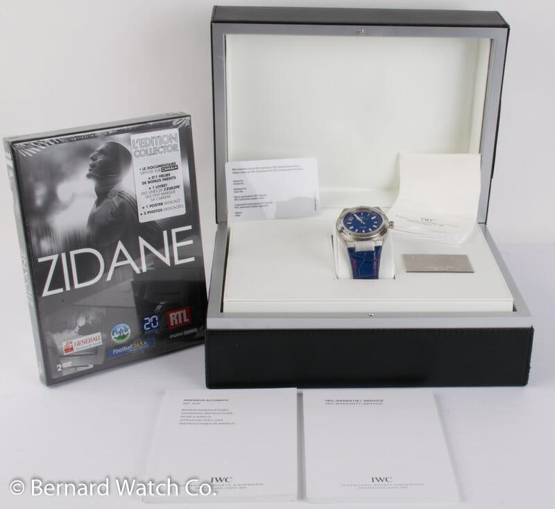 Box / Paper shot of Ingenieur Zinedine Zidane Limited Edition