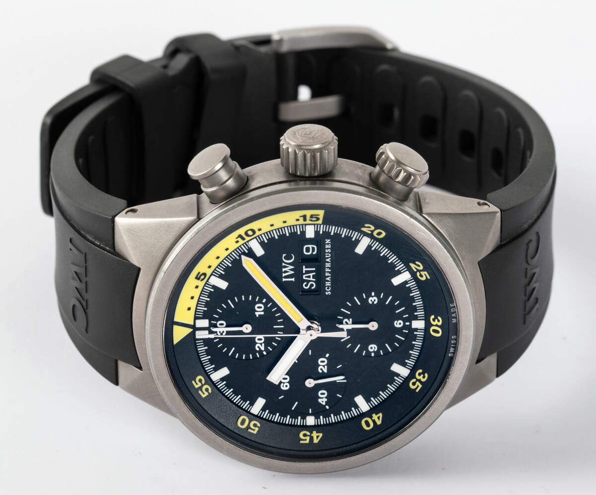 Front View of Aquatimer Chrono-Automatic