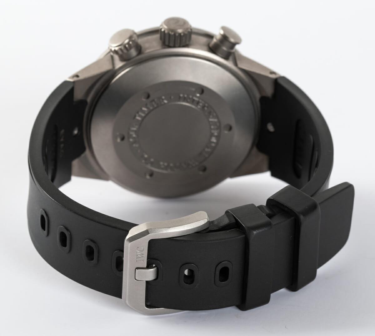 Rear / Band View of Aquatimer Chrono-Automatic