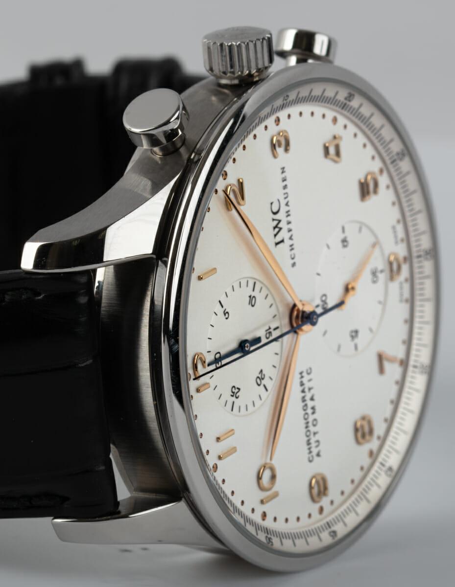Dial Shot of Portugieser Chronograph