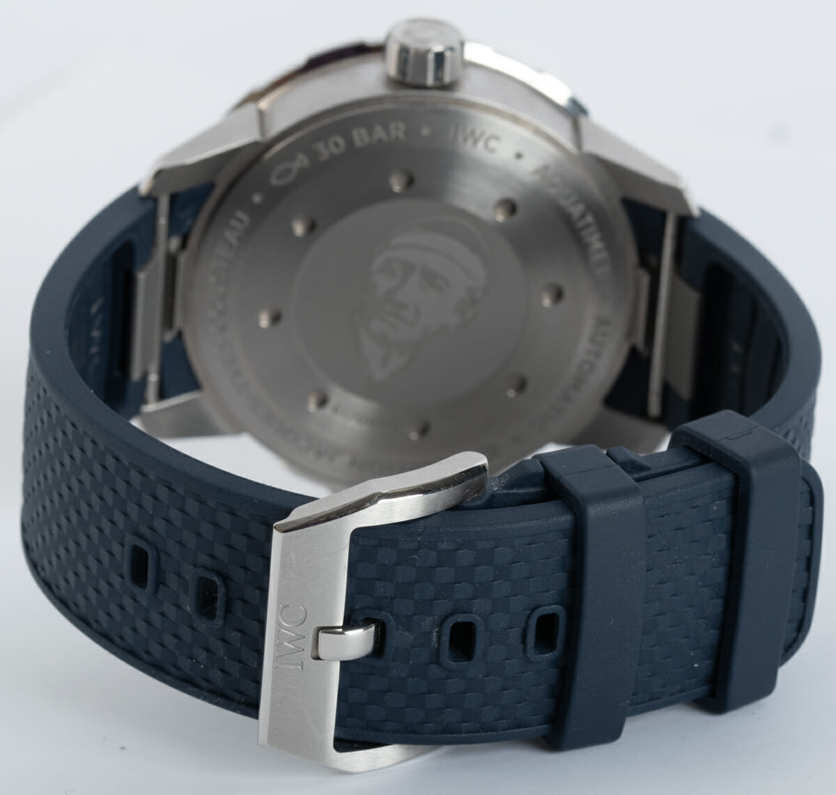 Rear / Band View of Aquatimer 'Expedition Jacques-Yves Cousteau'