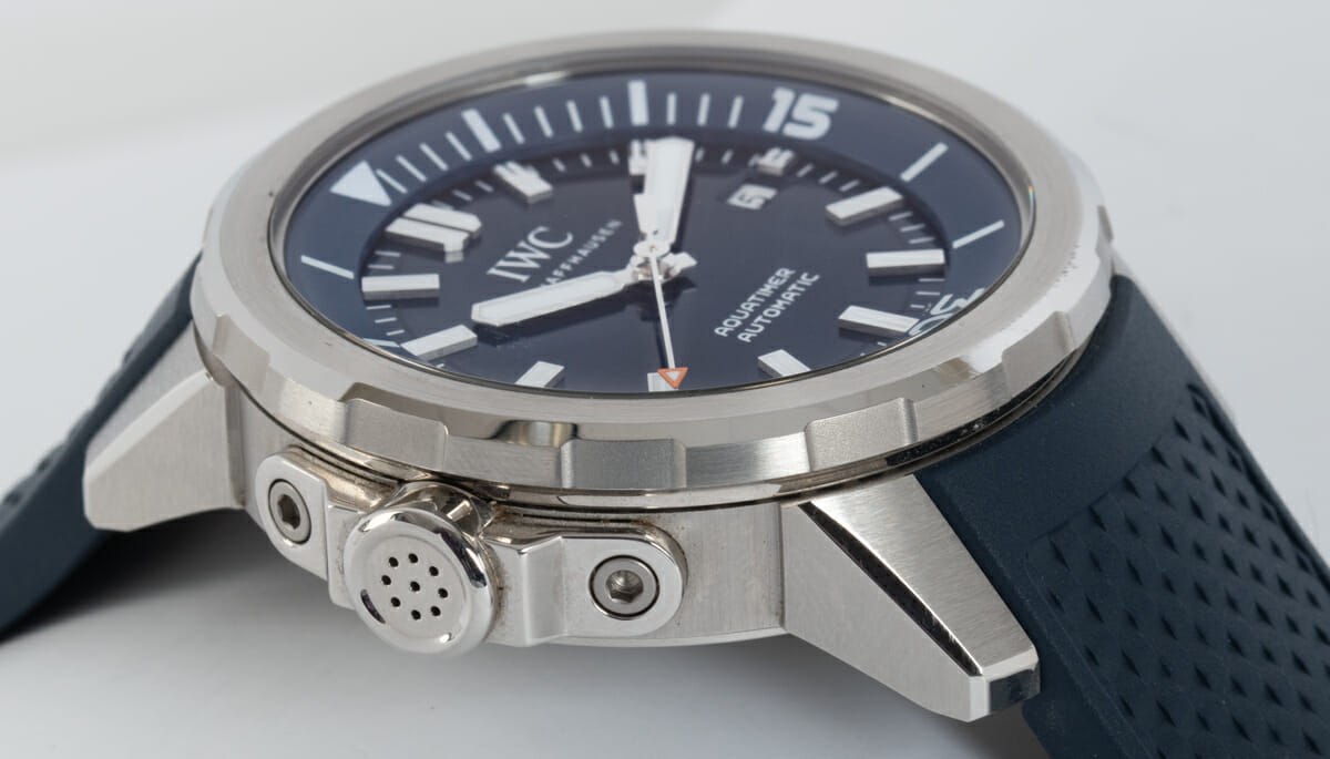 9' Side Shot of Aquatimer 'Expedition Jacques-Yves Cousteau'