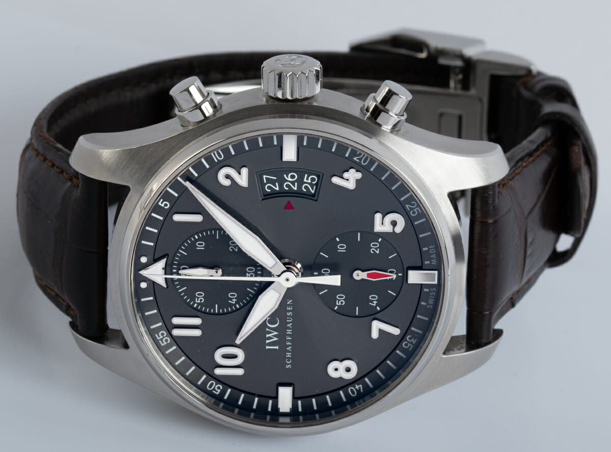 Front View of Spitfire Flyback Chronograph