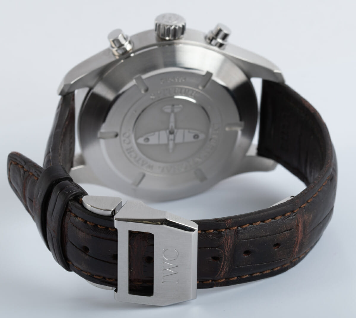 Rear / Band View of Spitfire Flyback Chronograph