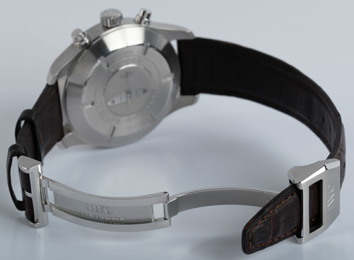 Open Clasp Shot of Spitfire Flyback Chronograph