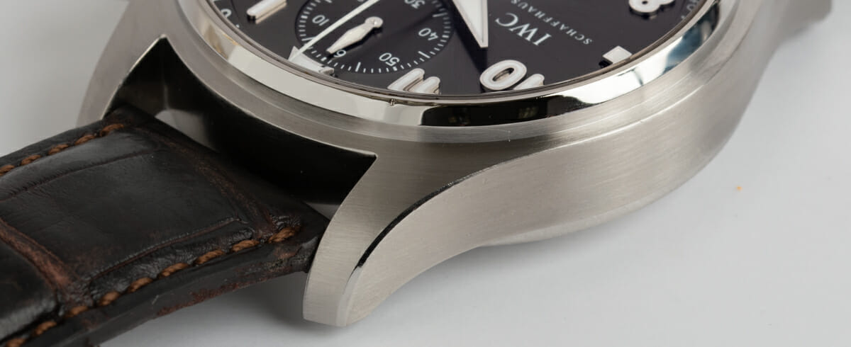 Extra Side Shot of Spitfire Flyback Chronograph