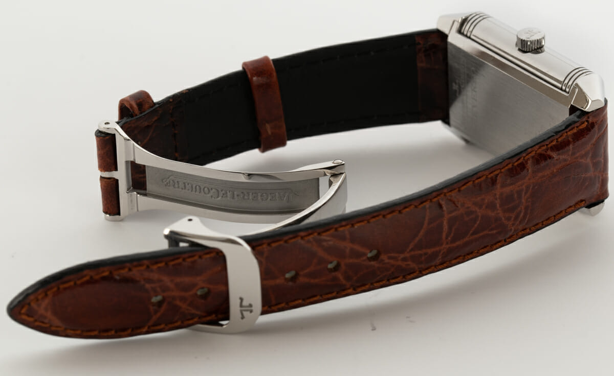 Open Clasp Shot of Reverso Grande Taille