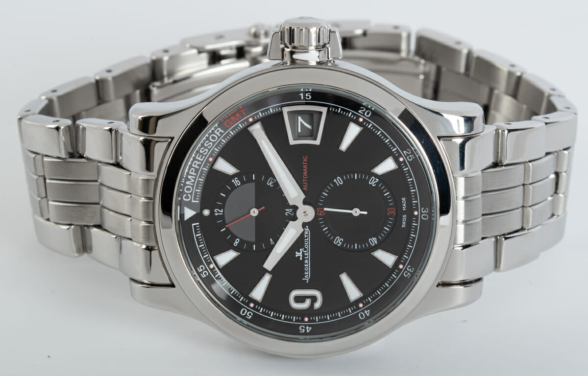 Front View of Master Compressor GMT 24 Hour