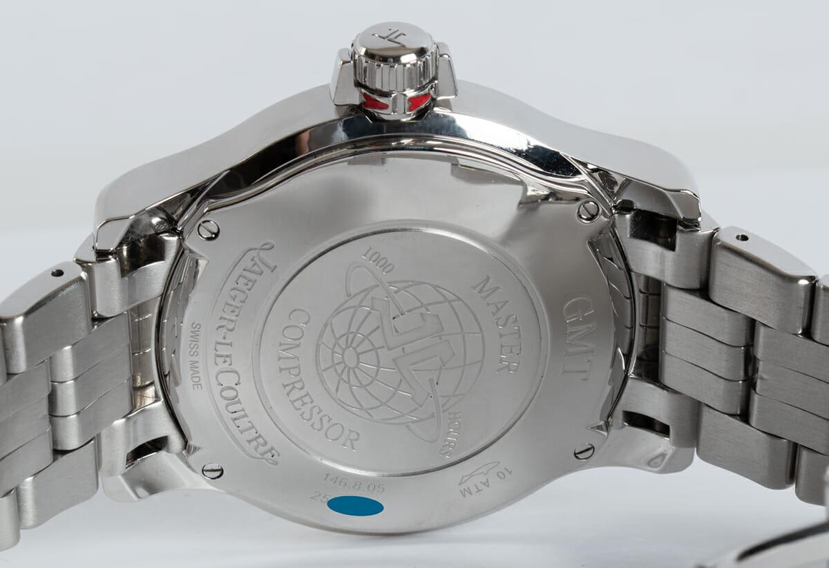 Caseback of Master Compressor GMT 24 Hour